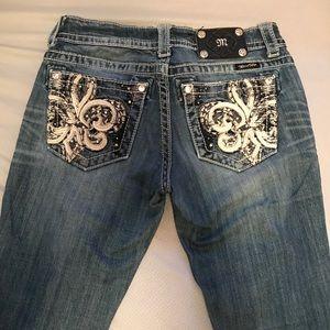 Size 27 long Miss Me jeans